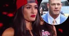 nikki bella john cena split wwe storyline fakery claims