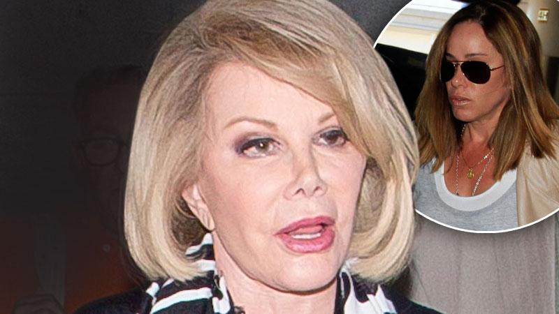 //joan rivers update melissa rivers __