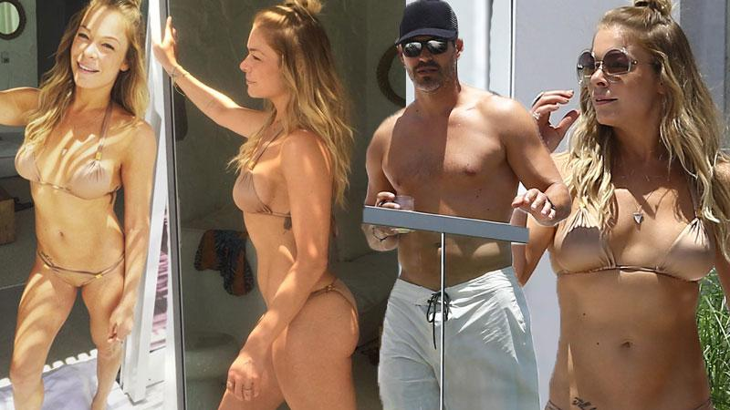 LeAnn Rimes Almost Naked With Husband Eddie Cibrian