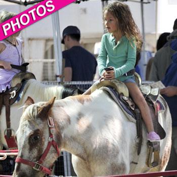 //nahla aubry rides horse