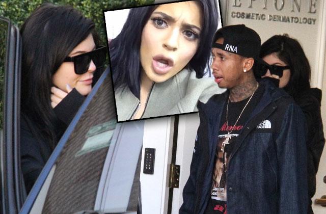Kylie Jenner Tyga Plastic Surgery Laser Treatment Center