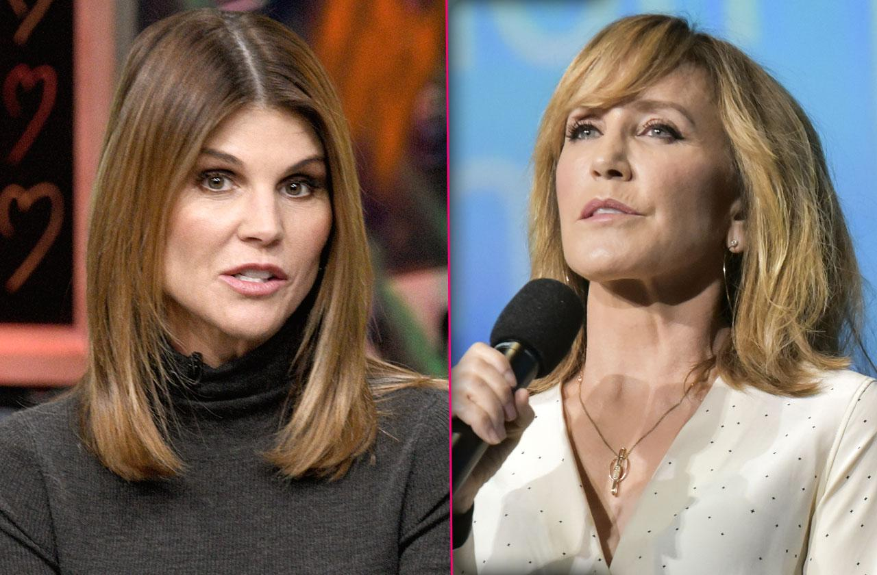 lori loughlin felicity Huffman college admissions scandal disgruntled students lawsuit