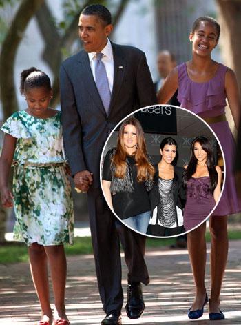 //barack obama the kardashians getty inf