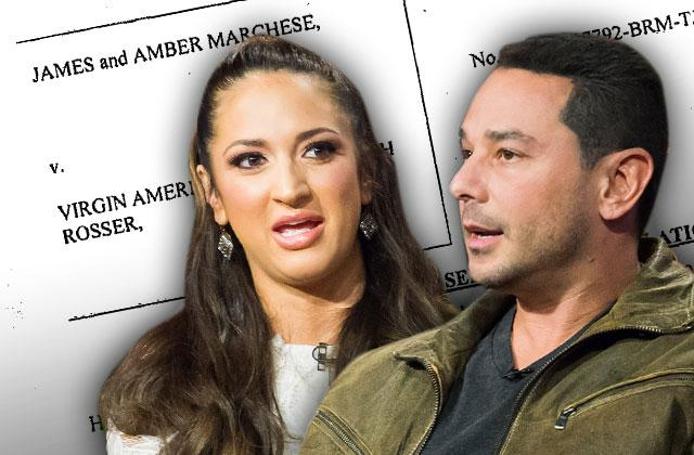 jim marchese amber marchese domestic abuse virgin airlines lawsuit complaint postponed