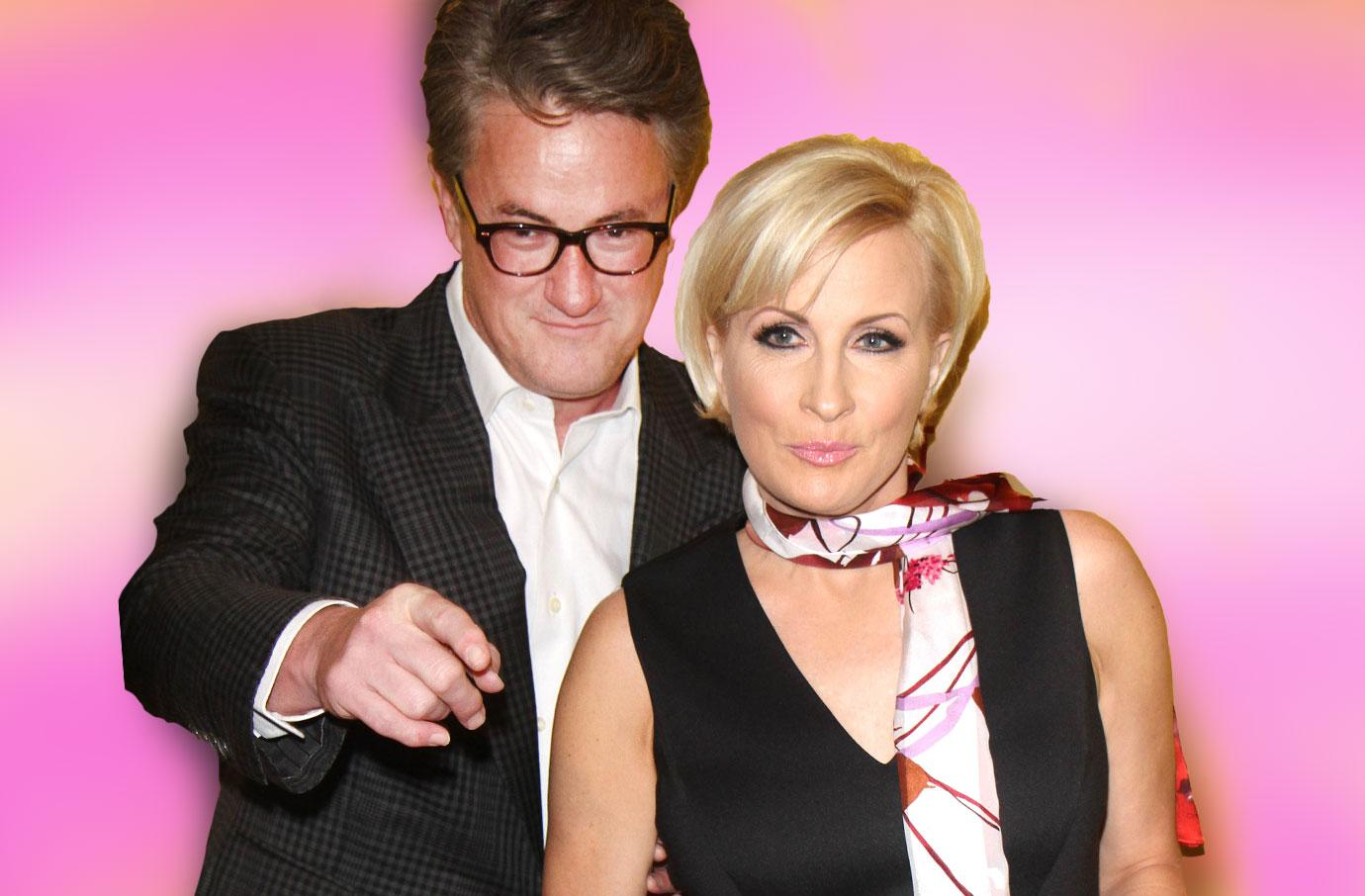 'Morning Joe' Co-Hosts Joe Scarborough and Mika Brzezinski Hooked Up While Married To Others!