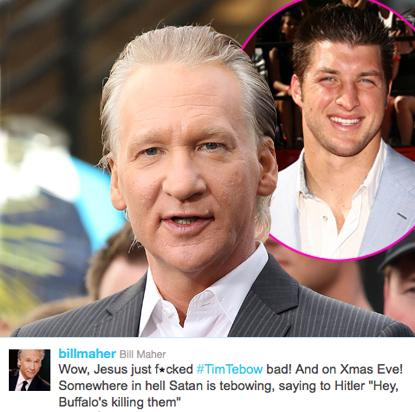 //maher tebow fame post