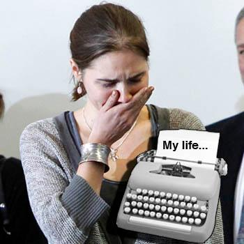 //amanda knox book deal splash