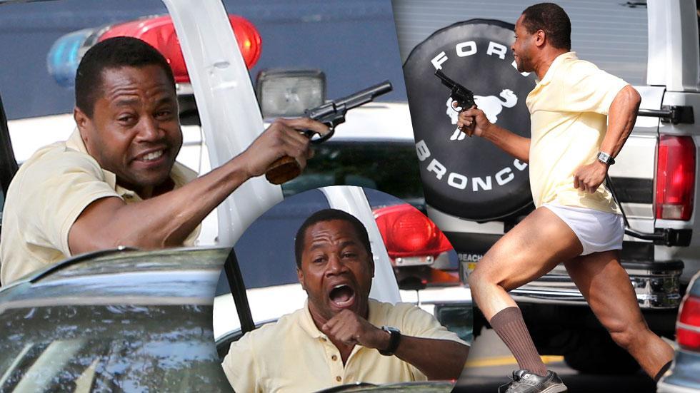 Cuba Gooding OJ Simpson Bronco Chase Photos