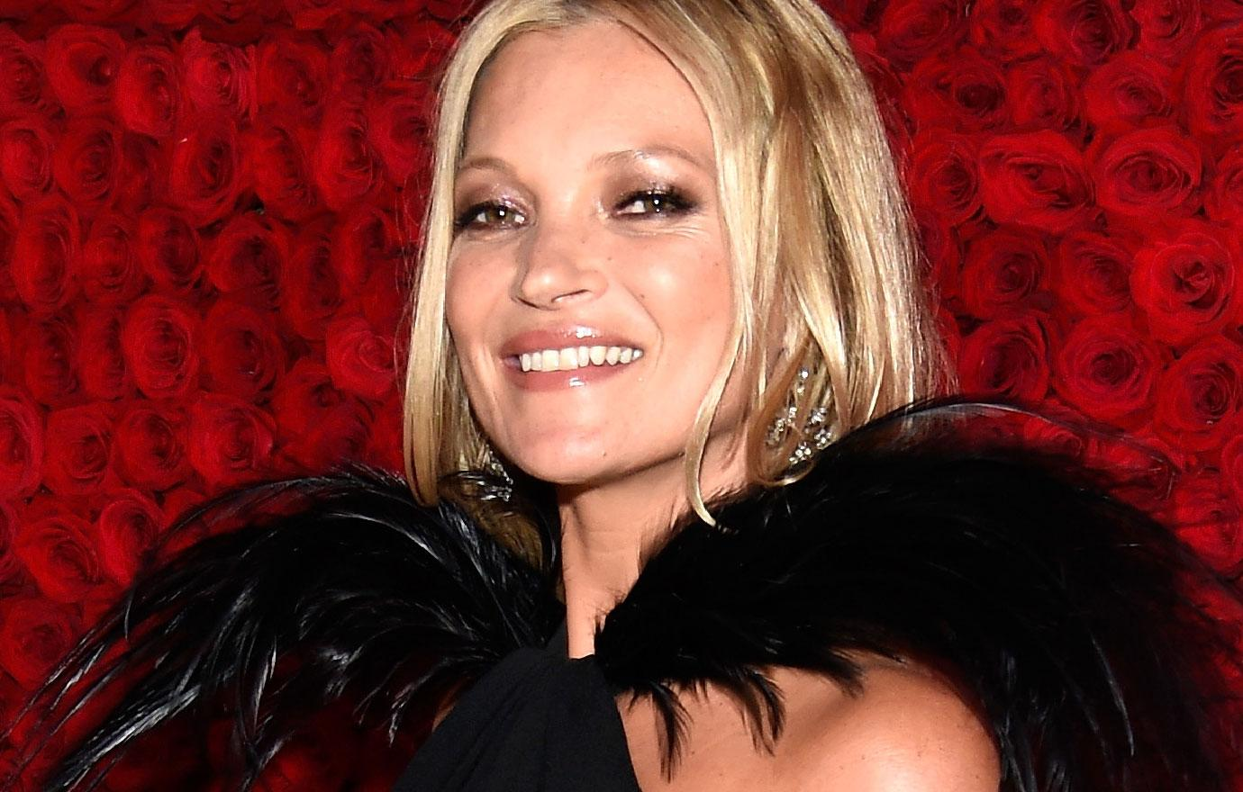 Kate Moss Sober For One Year After Friend's Death