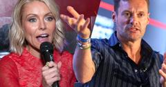 //kelly ripa ryan seacrest live relocation fight pp