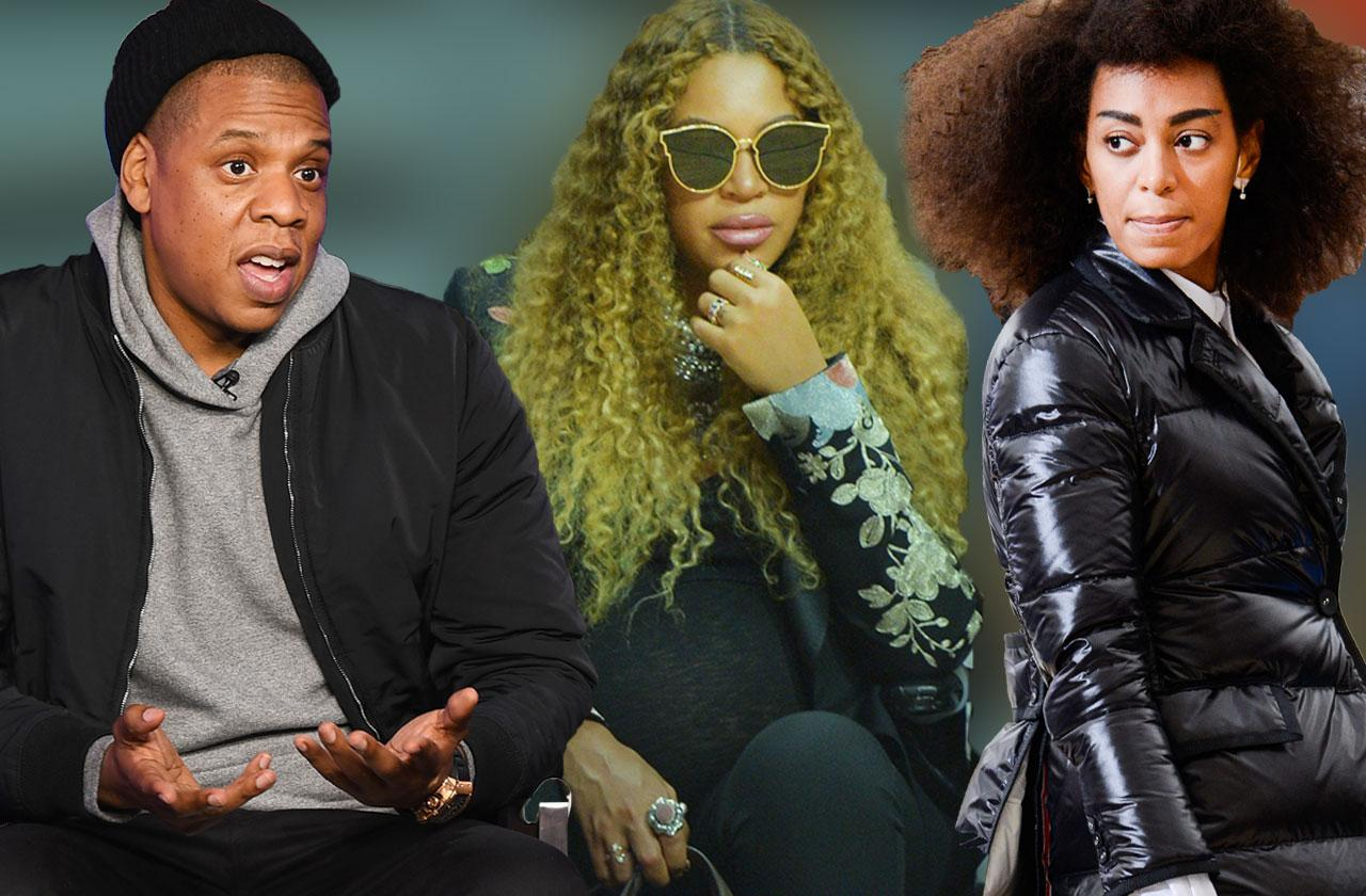Solange Knowles and Jay-Z Fight Beyonce Twins
