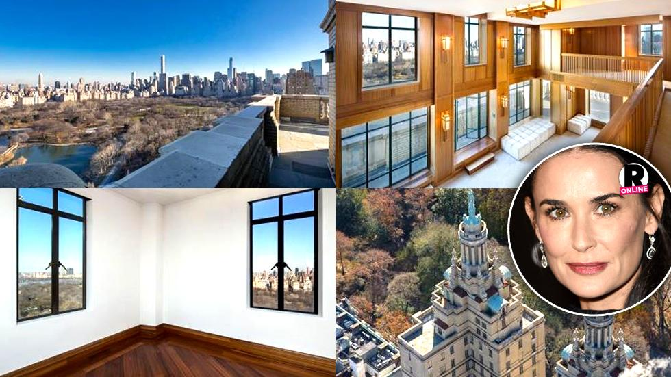 Demi Moore Manhattan Penthouse San Remo Ashton Kutcher Bruce Willis