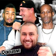 //george zimmerman michael lohan dmx celebirty boxing  sq