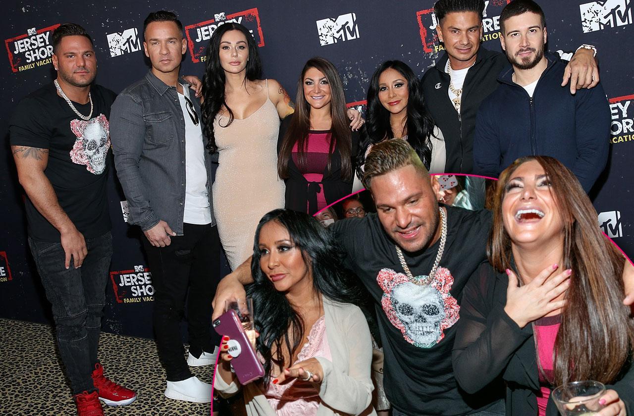 //Jersey Shore Reunion Party Cast pp