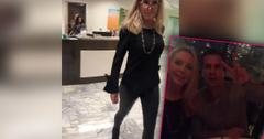 Shannon Beador Skinny Tight Leather Pants