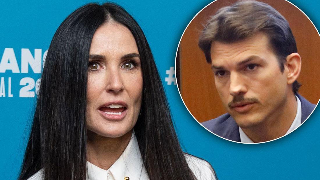 Demi Moore Claims Ex-Husband Ashton Kutcher Cheated Twice In New Memoir