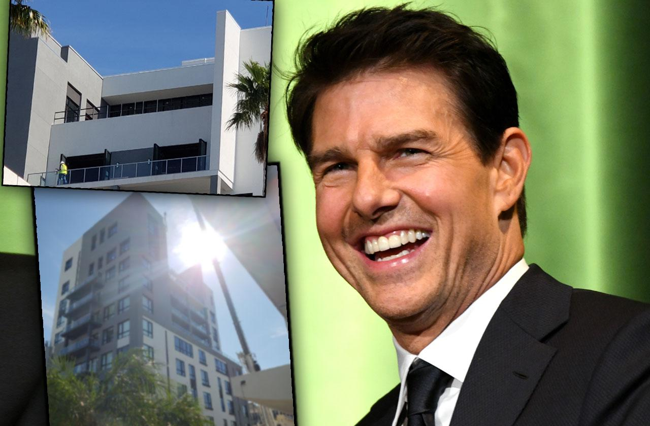 tom cruise moves into scientology penthouse photos