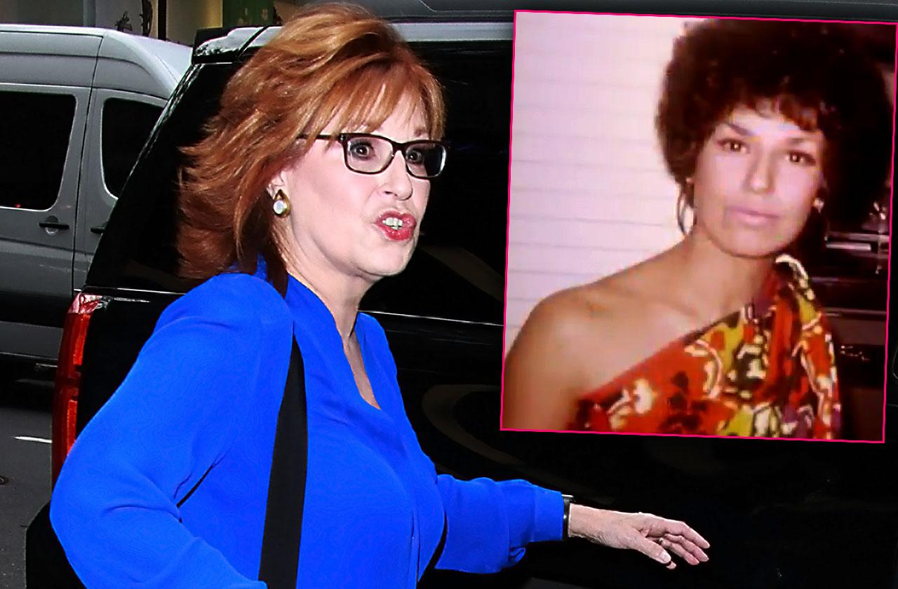 The View Joy Behar Wore Blackface Halloween