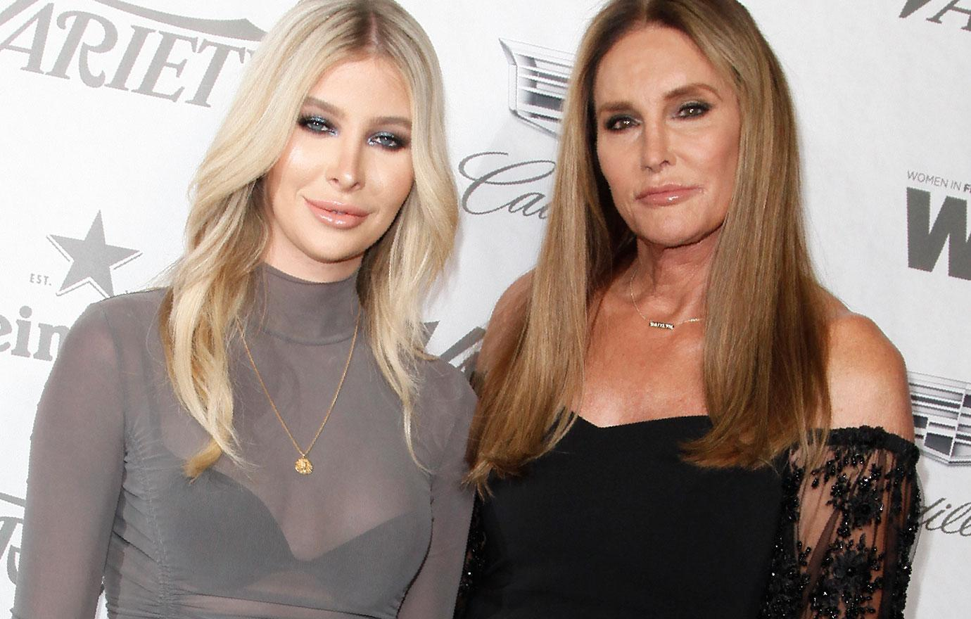 Caitlyn Jenner Sophia Hutchins Attend Women In Film Event