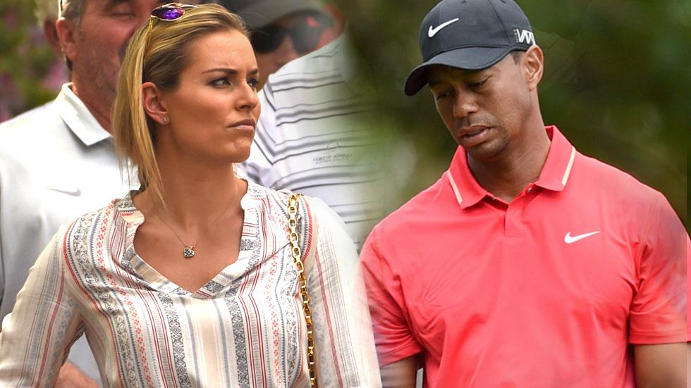 Lindsey Vonn & Tiger Woods Split -- Announce On Facebook