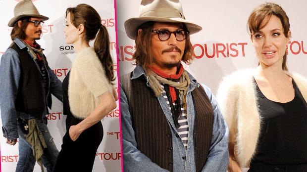 Angelina Jolie Brad Pitt Divorce Johnny Depp