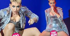 Katy Perry Wardrobe Malfunction Panties BBC Concert