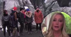 Shannon Beador Struggles RHOC Iceland Hike