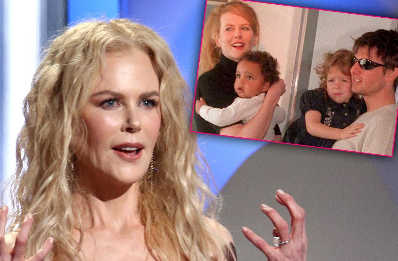 Nicole Kidman Talks Relationship Scientologist Kids