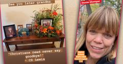 Amy Roloff And Kids Mark Her Mom Patricia's Funeral