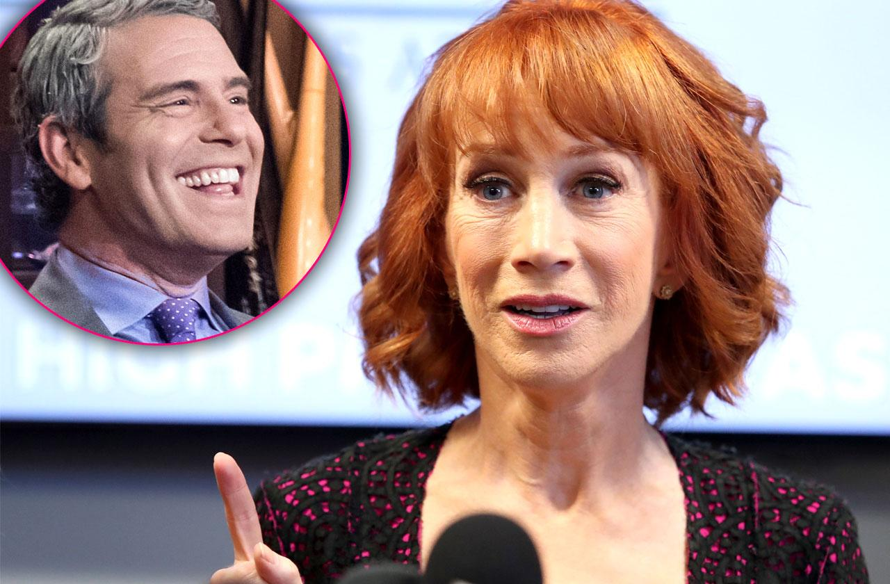 //Kathy Griffin Slams Andy Cohen CNN Replacement pp