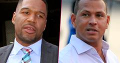 //Michael strahan benched alex rodriguez tv ex athlete pp