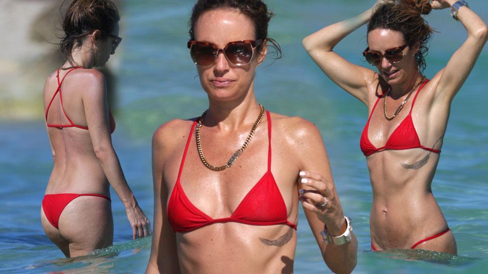 //Catt Sadler Bikini Beach Miami PP