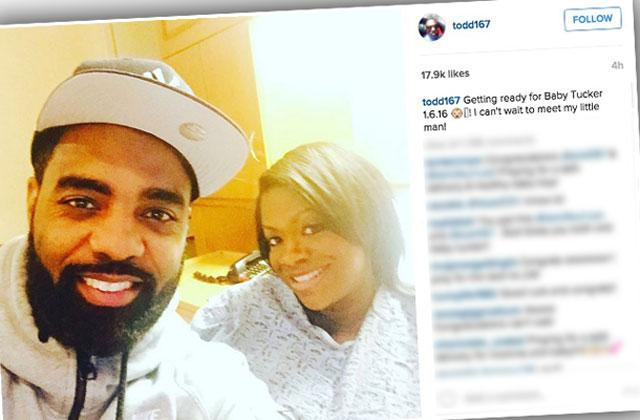 Kandi Burruss Gives Birth First Baby Husband Todd Tucker