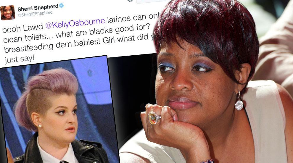 Sherri Shepherd Disses Kelly Osbourne On Twitter
