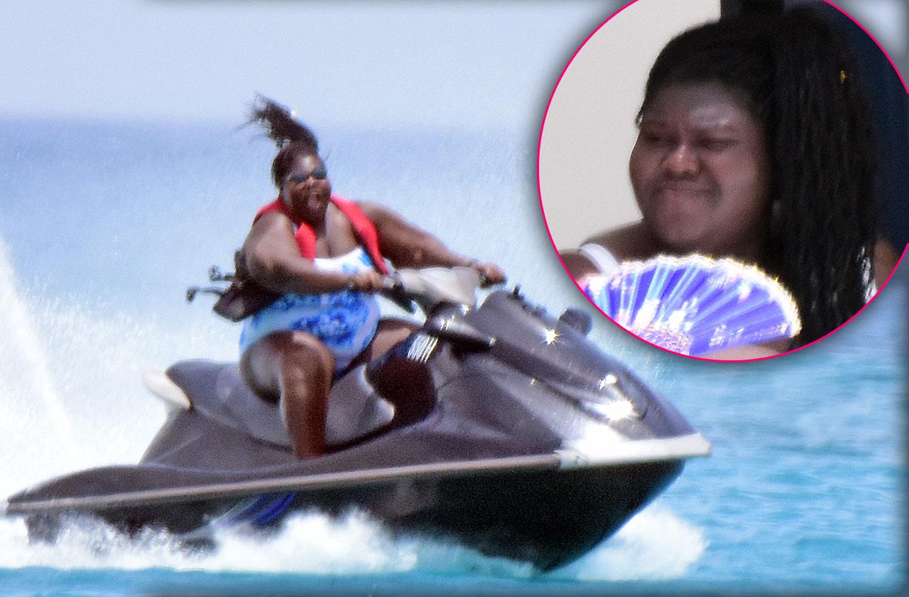 Gabourey Sidibe Swimsuit Weight Barbados