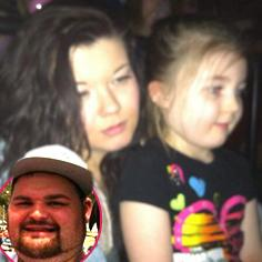 //amber portwood gary shirley takes daughter leah disney on ice