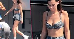 Bella Hadid Shows Off Bikini Body In Monaco