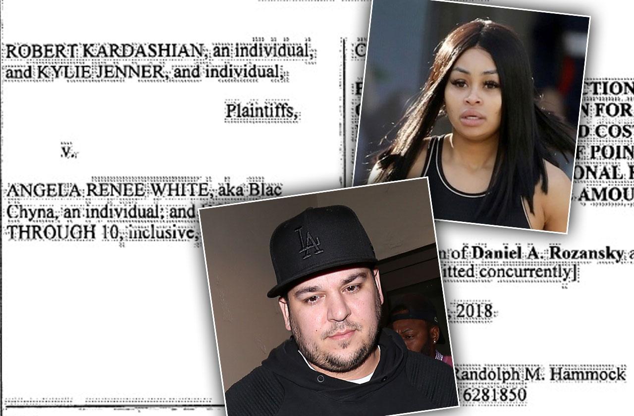 //blac chyna rob kardashian lawsuit reality show production company pp