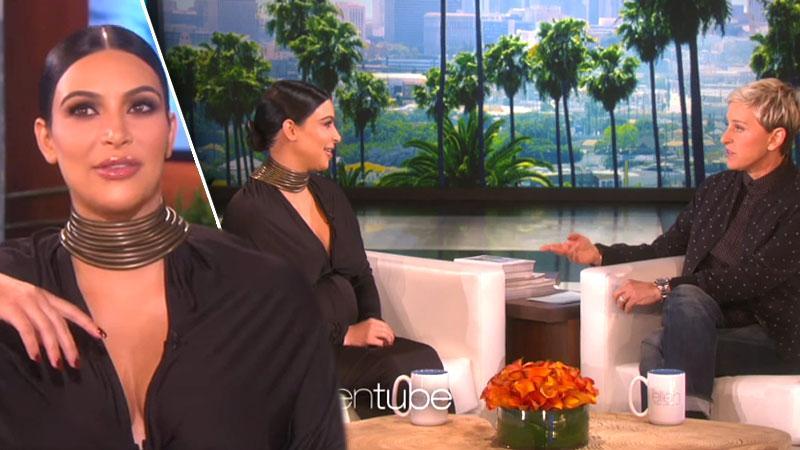 Kim Kardashian Ellen DeGeneres Show