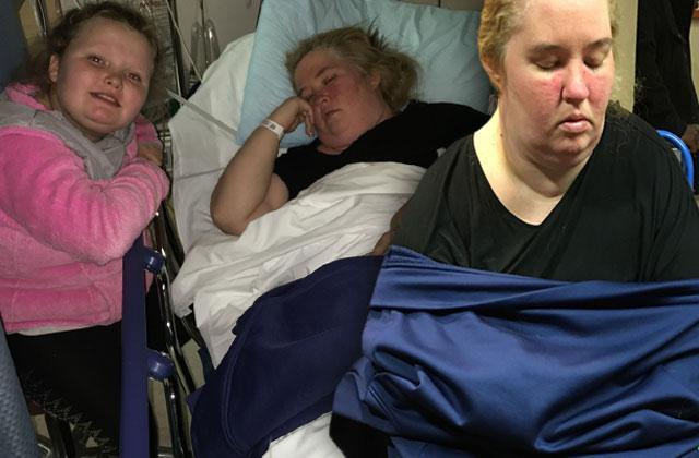 //mama june honey boo boo hospital collapse fainting pp