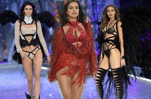 Victorias Secret Fashion Show Angels Paris Kendall Jenner