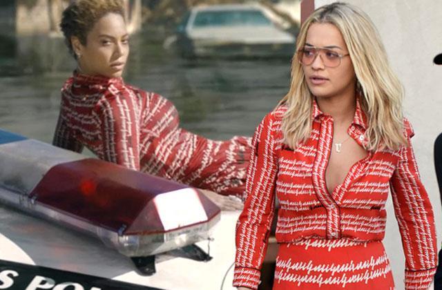 //beyonce lemonade rita ora jay z cheating rumors same dress pp