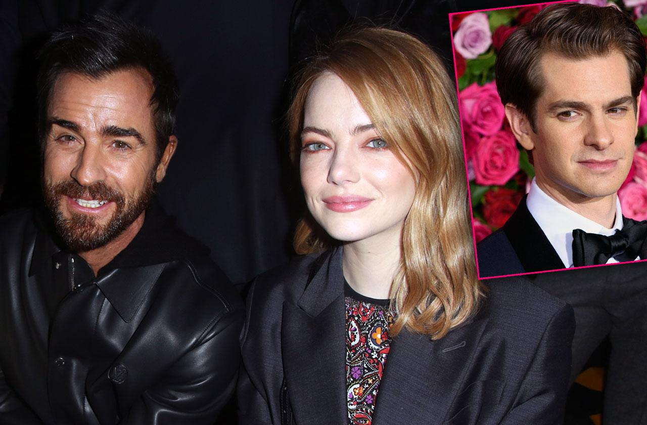 //andrew garfield upset over emma stone and justin theroux romance PP