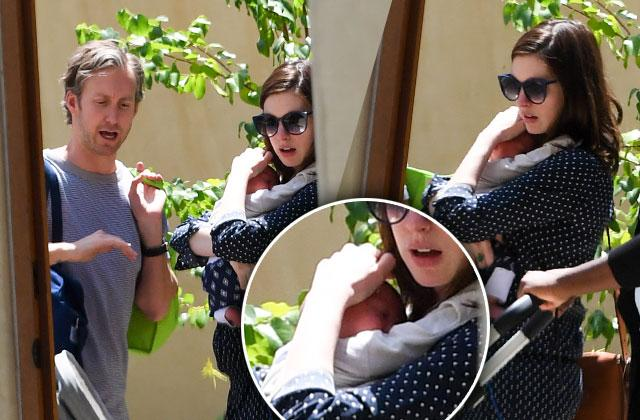 Anne Hathaway Post Baby Body Son First Sighting