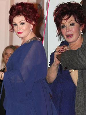 Sharon Osbourne UK 'X Factor' wrap party London