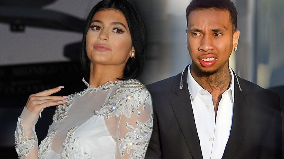 Tyga appears he will fit in nicely with the Kardashian