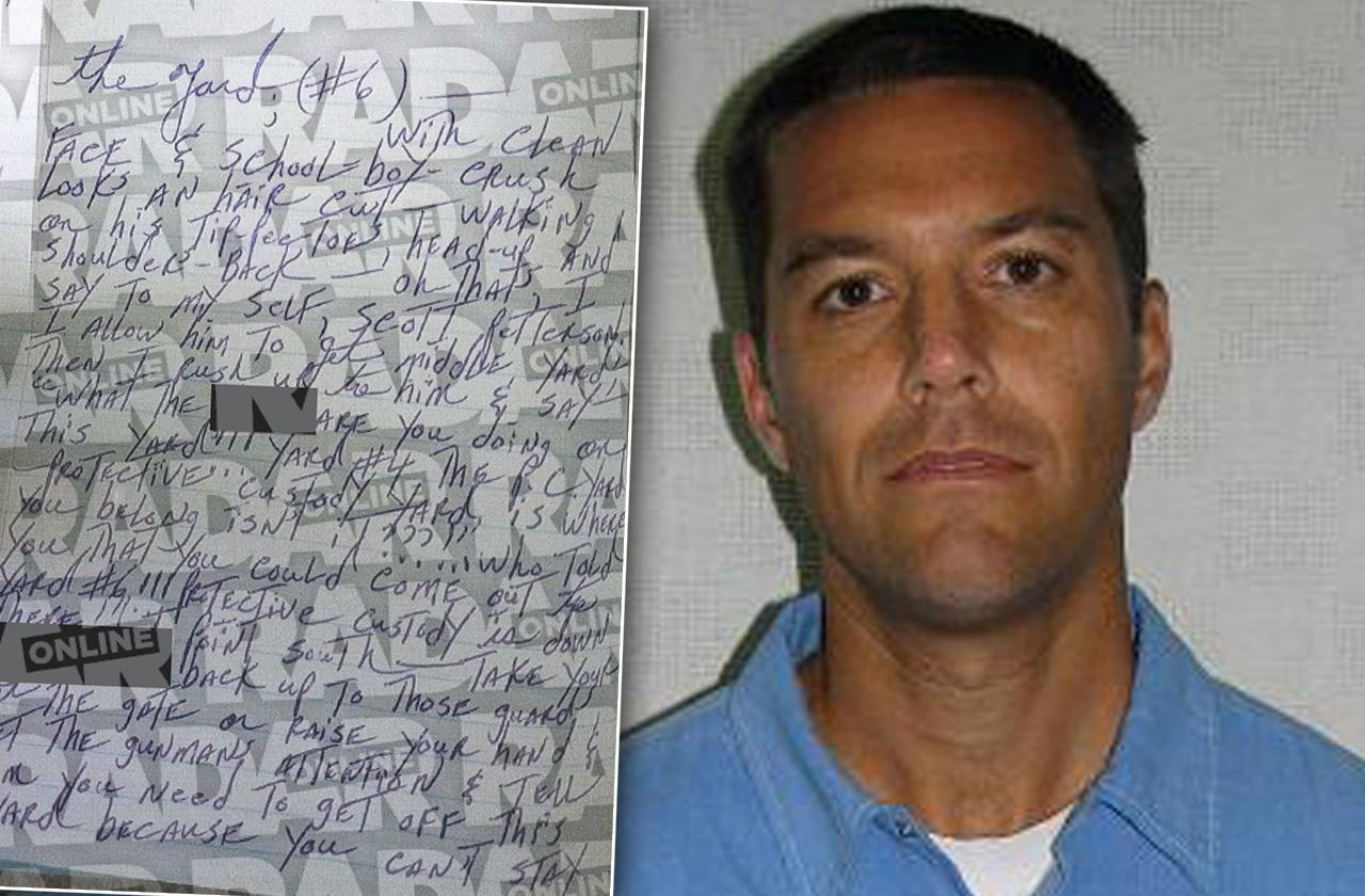 //scott peterson prison sex favors pp
