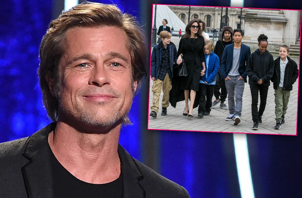 Brad Pitt Buying Kids' Love With Pricey Presents Amid Bitter Custody Battle