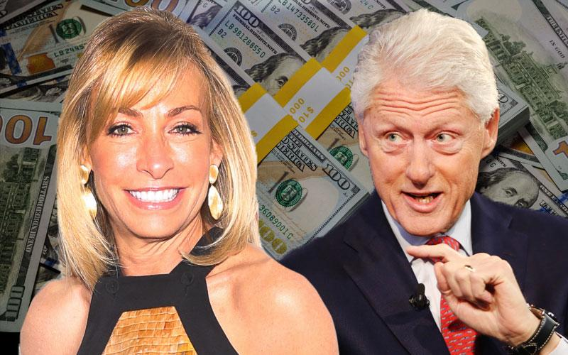 Bill Clinton Energizer Mistress Julie Tauber McMahon Million Dollar Donation