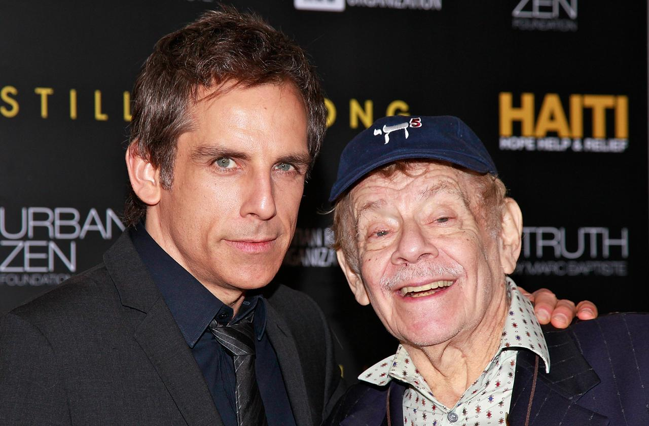jerry stiller rushed hospital stroke